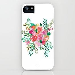 Happy Bouquet iPhone Case