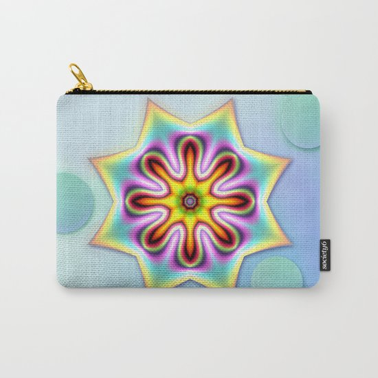 Decorative colourful silky star Carry-All Pouch