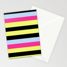 Bertie Bassett Stripes Pattern Stationery Cards