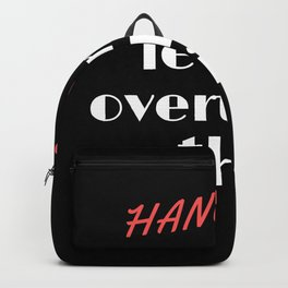 Hang on let me overthink this Backpack