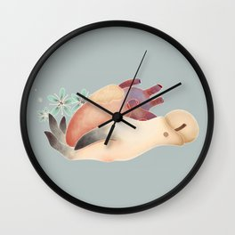 Be open-handed Wall Clock