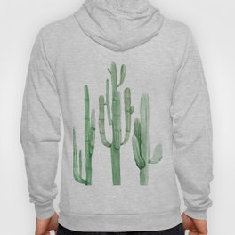 Three Amigos White + Green by Nature Magick Hoody