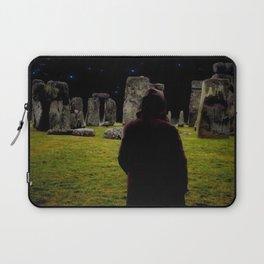 Druid Princess of Stonehenge Laptop Sleeve