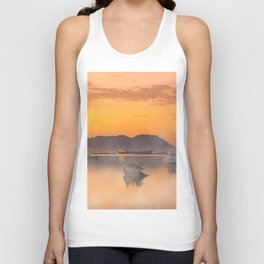 Golden Sunrise Unisex Tank Top
