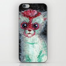 Kitty Popped iPhone & iPod Skin