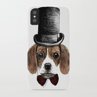 beagle iPhone & iPod Cases featuring Beagle by bylosangeles