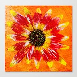 Sunflower - Mazuir Ross Canvas Print