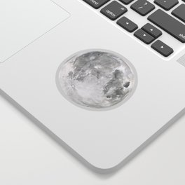 Moon #2 Sticker