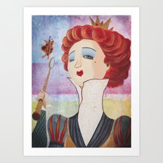 Alice Wonderland-1 Art Print