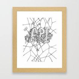 open api Framed Art Print