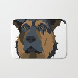 Ruby (German Shepard) Bath Mat