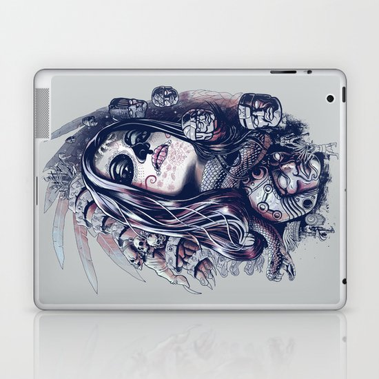 Coyolxauhqui Laptop & iPad Skin