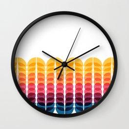 Metamorphosis Pattern Wall Clock