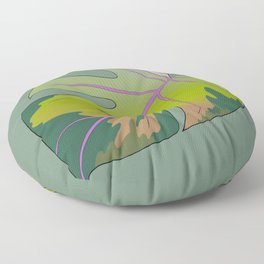 Philodendron 1 Floor Pillow