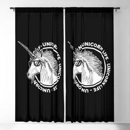 Unicorn Life Blackout Curtain