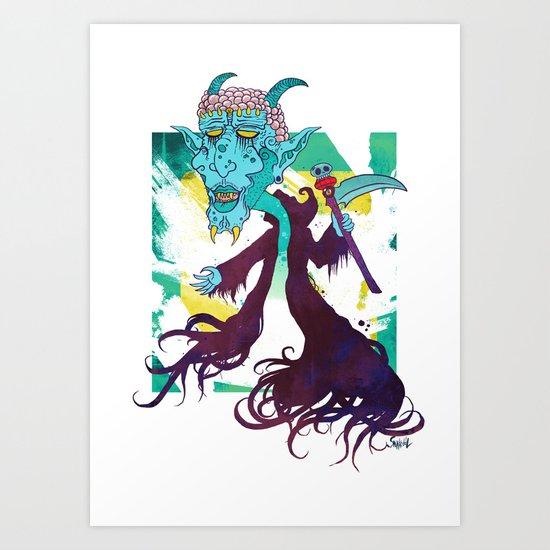 TOKEN Art Print