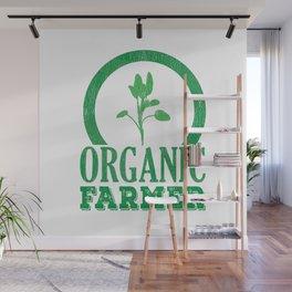 Organic Farmer Regional Vegetable Fruit Wall Mural