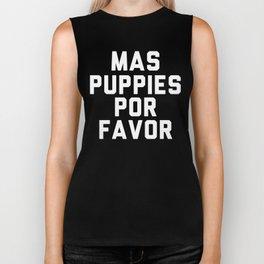 Mas puppies por favor Biker Tank