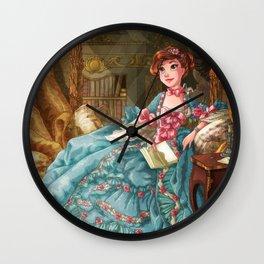 Tseumpfeuh de Pompadour Wall Clock