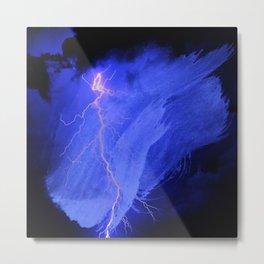 abstract thunder 2 Metal Print