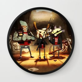 Hell's Mate Wall Clock