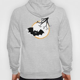 Bat and Moon Hoody