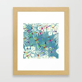 butterflys Framed Art Print