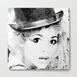 The Hatter Series Metal Print