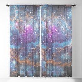 Lobster Nebula Sheer Curtain