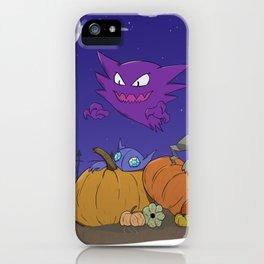 In the Pumpkin Patch iPhone Case