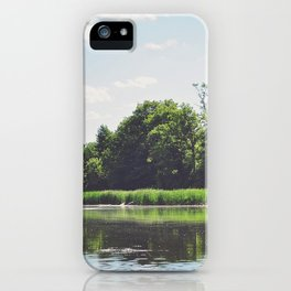 Oatka Creek, LeRoy NY iPhone Case
