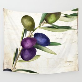Olive Branch III Wall Tapestry
