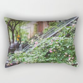 West Village Summer Blooms Rectangular Pillow