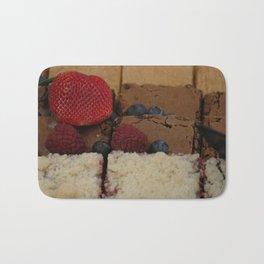 Assorted Desserts Bath Mat