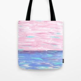 Pink Sky Delight Tote Bag