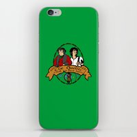 the hobbit iPhone & iPod Skins featuring The Hobbit by SuperEdu