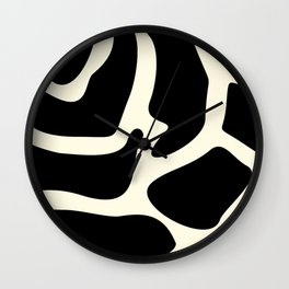 Giraffe texture #society6 #decor #buyart #artprint Wall Clock