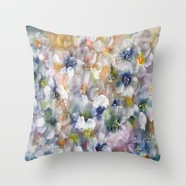 Evening-Primrose  Throw Pillow