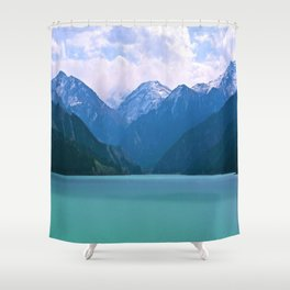 Lake t1me Disposition Shower Curtain
