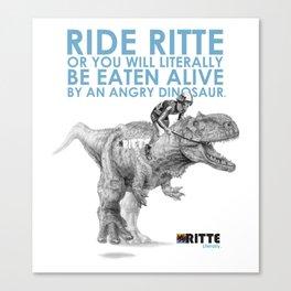 Rittesaurus Canvas Print