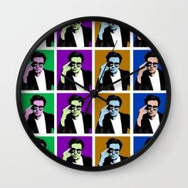 Sebastian Stan Pop Art Wall Clock