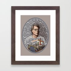 Stephen King Framed Art Print
