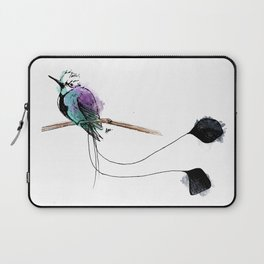 purple & blue colibri Laptop Sleeve