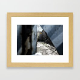 Belgrade / Secrets 02 Framed Art Print