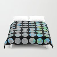 dots Duvet Covers featuring Dots  by LebensARTdesign