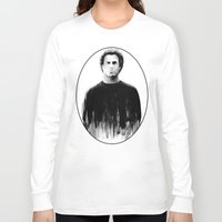 snl Long Sleeve T-shirts featuring DARK COMEDIANS: Will Ferrell by Zombie Rust