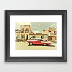 Trinidad Edsel Framed Art Print