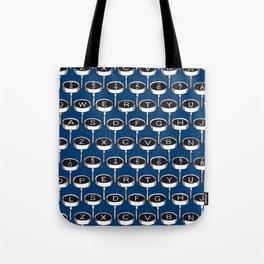 Infinite Typewriter_Blue Tote Bag