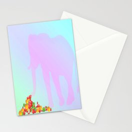 healthy energy Stationery Cards