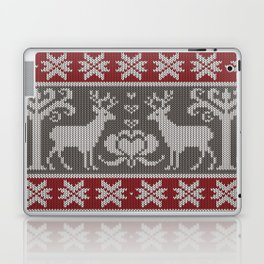 Ugly knitted Sweater Laptop & iPad Skin
